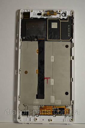 Дисплей Nomi i506 Shine с сенсором White, оригинал, фото 2