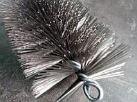Щётка металлическая для чистки котлов ∅ 40 мм