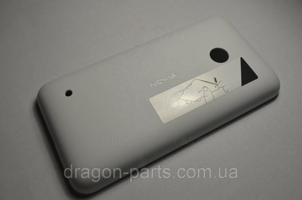Задняя крышка  Nokia Lumia 530 белая оригинал , 02507L2