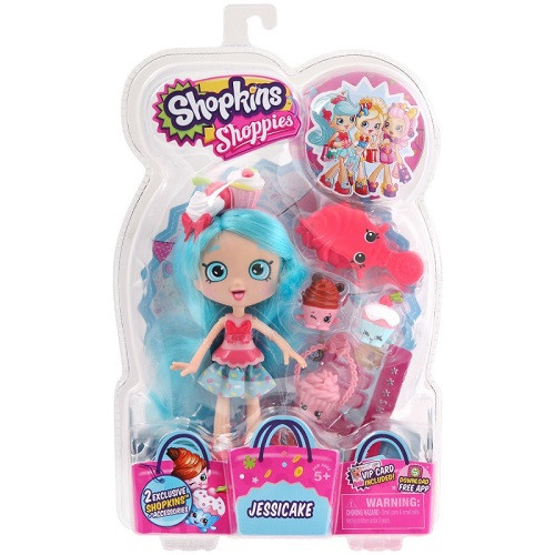 Куклы и пупсы «Shopkins» (56164) Джесси Кейк, с аксессуарами