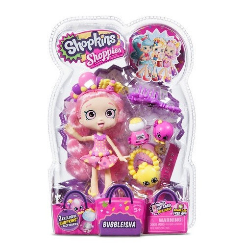 Ляльки пупси «Shopkins» (56161) Лялька Баблі Гам, з аксесуарами