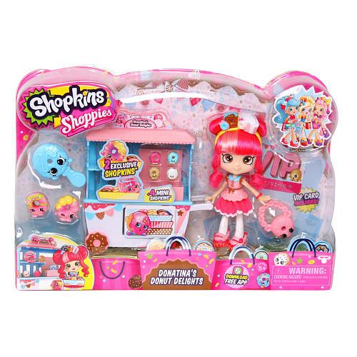 Куклы и пупсы «Shopkins» (56186) игровой набор Пончиковая лавка донатины