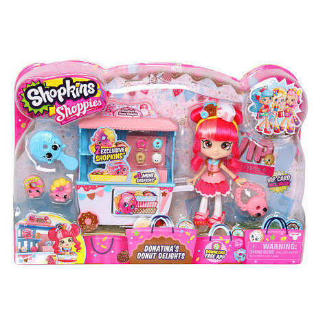 Куклы и пупсы «Shopkins» (56186) игровой набор Пончиковая лавка донатины, фото 2