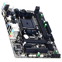 Материнская плата для компьютера Gigabyte GA-F2A68HM-S1 Socket FM2+ 2 х DDR3 micro ATX RAM 64 Gb AMD Athlon