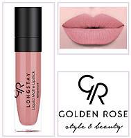 Матовая стойкая жидкая помада Golden Rose 1 Longstay liquid Matte № 01
