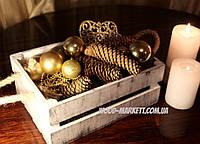Деревянный ящик прованс