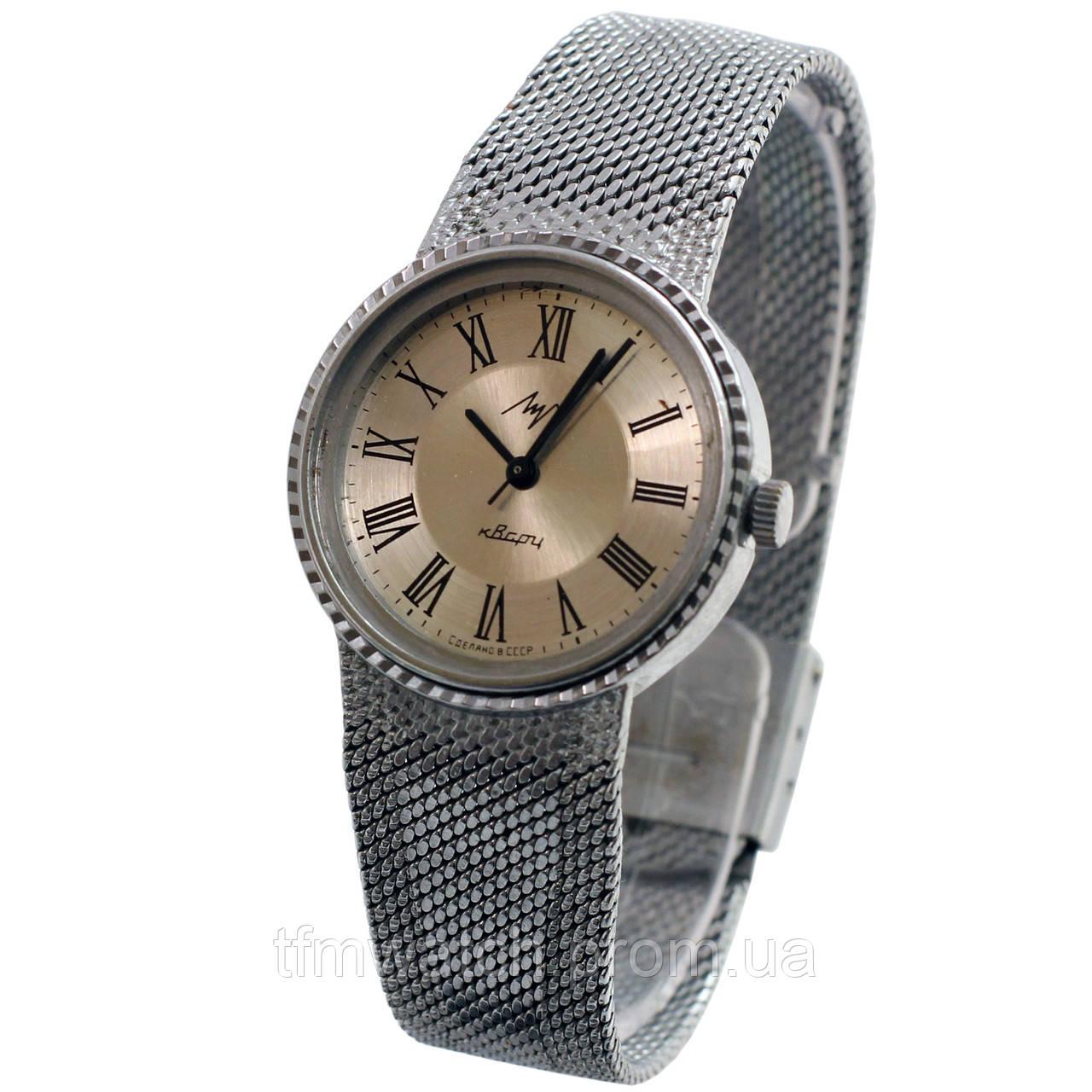 Кварцевые часы Луч СССР -  Магазин старинных, винтажных и антикварных часов TFMwatch в России