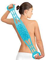 Мочалка для тела dual sided back scrubber N1