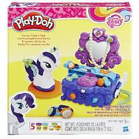 Play-Doh Игровой набор Туалетный столик Рарити Плей до