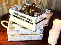 Ящичек новогодний прованс