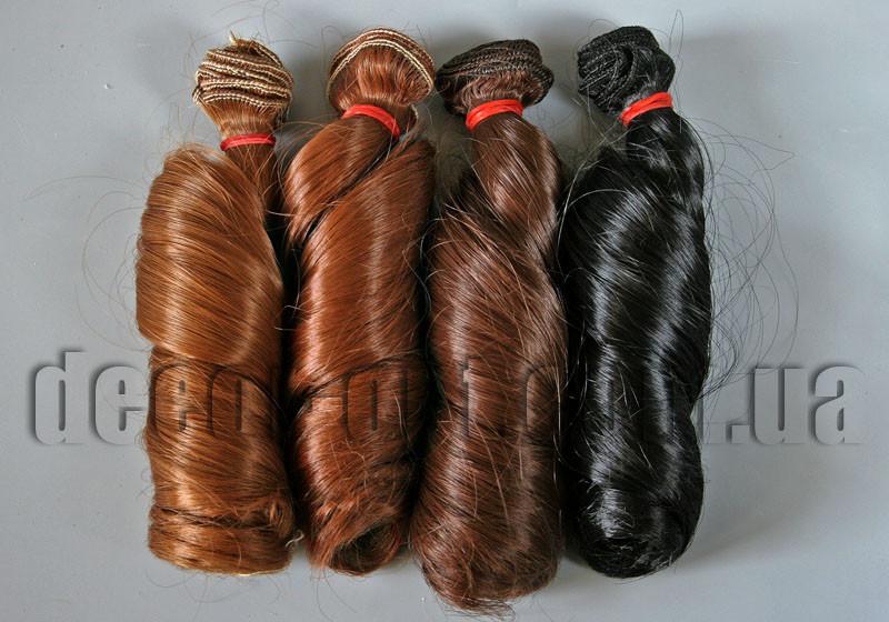 Волосы для кукол витые локоны 15см/~1м