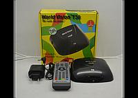 Цифровой эфирный тюнер Т2 World Vision T38