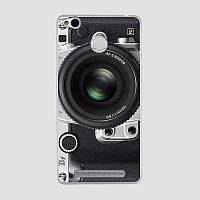 Силиконовый чехол на Xiaomi Redmi 3S Pro с картинкой Объектив фотоаппарата