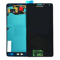 Модуль (дисплей + сенсор) Samsung A7 A700H dark blue original