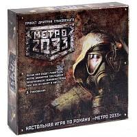 Настольная игра МЕТРО 2033 (2е издание)