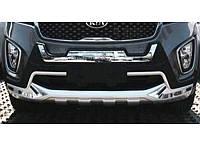#2 Накладки на бампер передние+задние KIA Sorento 2015+