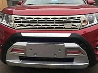 Накладка на бампер передний+задний на Suzuki Vitara 2015+
