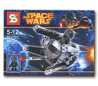 "Конструктор SY STAR WARS 205A ""TIE-перехватчик"""