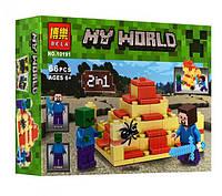 Конструктор BELA Minecraft 10191
