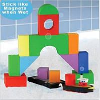 """Набор плавающих блоков для ванны """"Буксир и Баржа"""" для детей от 3 лет ТМ Just Think Toys Микс 22092"""