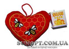 Мягкая игрушка Сердце А8 9631 2А