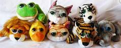 Мягкие игрушки Зоопарк 15см №20