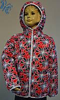 Модная куртка детская для девочки 3 лет (осень/весна, размер 98!) ТМ PoliN line