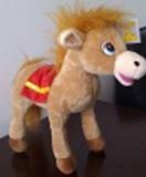 Мягкая игрушка лошадка №2141-29, фото 2