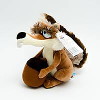 """Мягкая игрушка Белка 20см (из мультфильма """"Ледниковый период"""") №6076"""