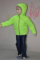 Яркий демисезонный детский костюм для ребенка 3-6 лет (размер 98-116, унисекс) PoliN line
