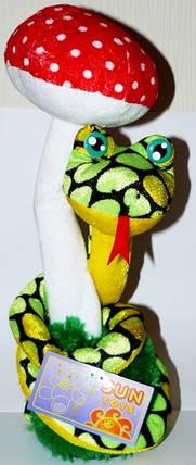 Механическая игрушка Змея с мухомором №2265, фото 2