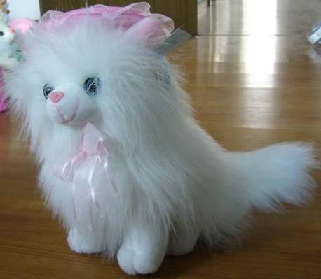 Мягкая игрушка Кот пушистый сидит 25 см №8350-25, фото 2