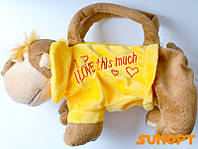 Мягкая игрушка- сумочка Обезьянка №1518b1
