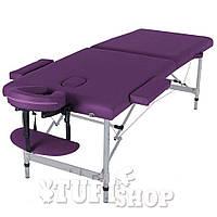 Массажный стол HQ06-DIO, фиолетовый
