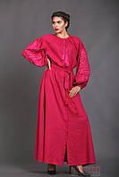 Жіноча довга сукня в категории этническая одежда и обувь женская в ... 7408b630f7352
