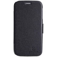 Чехол книжка Nillkin Fresh Leather Case  для телефона смартфона Lenovo A706 черный black