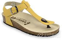 Сандали ортопедические женские(желтый) Tobago, Grubin, 95365