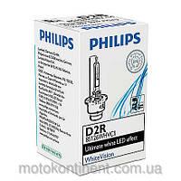 Ксенон D2R Philips WhiteVision 85126WHVC1 85V 35W 5000K P32D-3 ЯРКОСТЬ СВЕТА УВЕЛИЧЕНА НА 60%