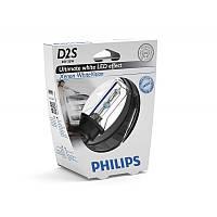 Ксенон D2S Philips Xenon WhiteVision  85122WHVS1 35W 5000К