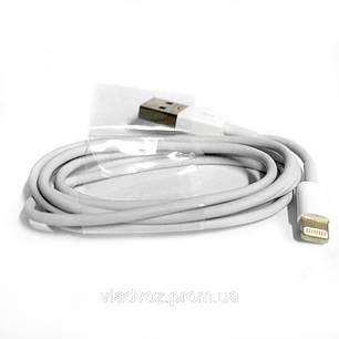 Кабель Lightning to USB для iPad, iPhone 5, 5c, 5s белый, фото 2