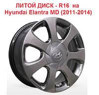 Диск Литой Hyundai 5x114.3 16x6.5 ET50 D67.1 комплект 4шт