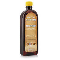 Льняное масло, Сибирское - 0,5 л.
