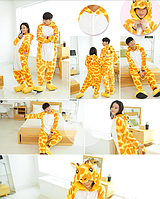 Пижама кигуруми kigurumi костюм Жираф М