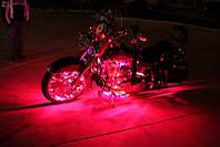 Подсветка на мотороллер—Красная!