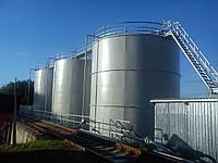 Строительство складов хранения жидких минеральных удобрений