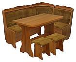 """Кухонный уголок """"Волна""""+стол+2 табуретки, фото 2"""