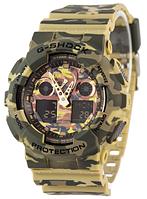 Часы унисекс наручные Casio G-Shock AAA GA-100 Military-Green SK-1006-0528 AAA copy SK