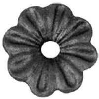 Цветок - литой элемент 6154