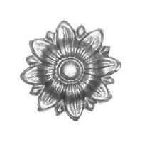 Цветок - литой элемент 6157