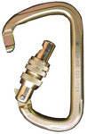 Стальной карабин треугольной формы с резьбовой муфтой /S-2107KS/.